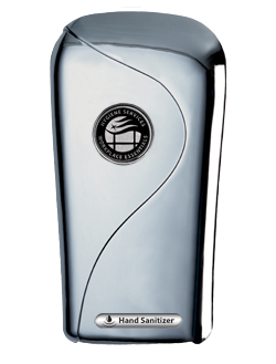 hand sanitizer chrome auto